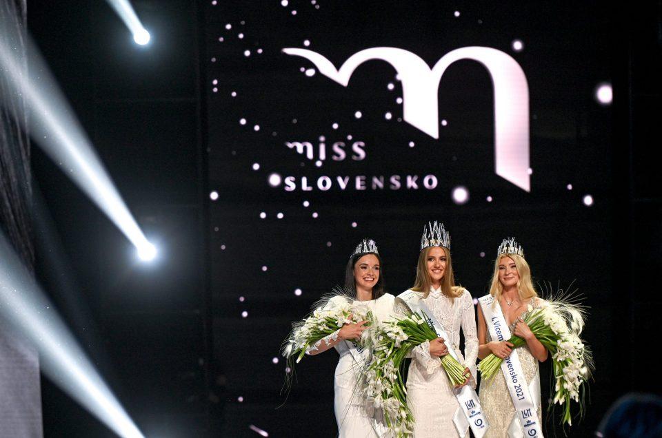 Miss Slovensko 2021,Sophia Hrivňáková,Sylvia Šulíková,Jana Vozárová